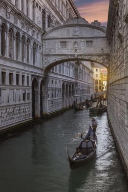 Bridge of Sighs, Venice, UNESCO World Heritage Site, Veneto, Italy, Europe by Angelo Cavalli