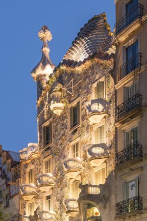 Casa Batllo, UNESCO World Heritage Site, Barcelona, Catalonia, Spain, Europe