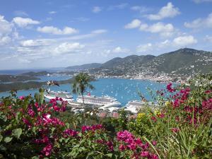 Charlotte Amalie, St. Thomas, U.S. Virgin Islands, West Indies, Caribbean, Central America by Angelo Cavalli