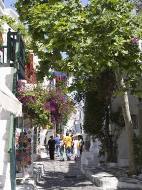 Chora, Mykonos, Cyclades, Greek Islands, Greece, Europe by Angelo Cavalli