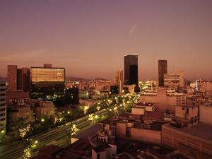 Citta Del Messico, Mexico City by Angelo Cavalli
