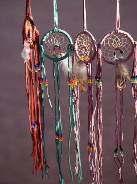 Dream Catchers, Navajo Souvenirs, Monument Valley Navajo Tribal Park, United States of America by Angelo Cavalli