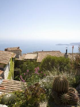 Eze, Alpes Maritimes, Provence, Cote d'Azur, French Riviera, France, Mediterranean by Angelo Cavalli