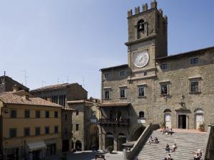 Municipal House of Cortona, Tuscany, Italy by Angelo Cavalli
