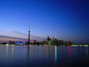 Ontario Skyline, Toronto, Canada by Angelo Cavalli