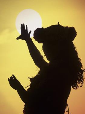 Polynesian Dancer, Ahu Tahai, Easter Island by Angelo Cavalli