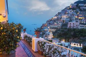 Positano, Amalfi Peninsula, UNESCO World Heritage Site, Campania, Italy, Mediterranean, Europe by Angelo Cavalli