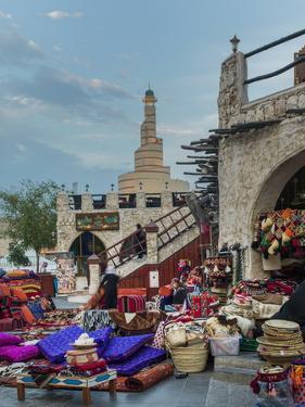 Souk Waqif, Doha, Qatar, Middle East by Angelo Cavalli