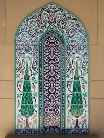 Sultan Quaboos Great Mosque, Muscat, Oman, Middle East