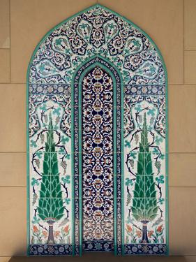 Sultan Quaboos Great Mosque, Muscat, Oman, Middle East by Angelo Cavalli