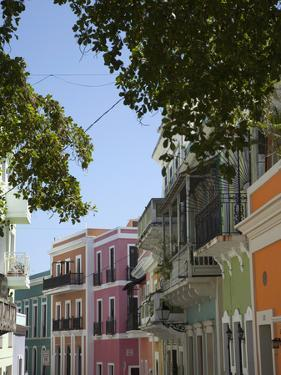 The Colonial Town, San Juan, Puerto Rico, West Indies, Caribbean, USA, Central America by Angelo Cavalli