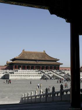 The Forbidden City, Beijing (Peking), China, Asia by Angelo Cavalli