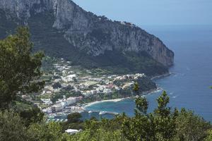 The Island of Capri, Campania, Italy, Mediterranean, Europe by Angelo Cavalli