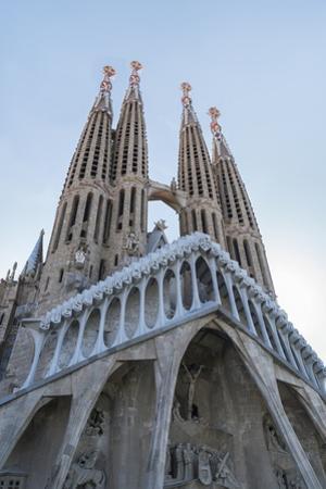 The Sagrada Familia, UNESCO World Heritage Site, Barcelona, Catalonia, Spain, Europe
