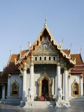 Wat Benchamabophit (Marble Temple), Bangkok, Thailand, Southeast Asia by Angelo Cavalli