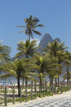 Ipanema Beach, Rio De Janeiro, Brazil, South America by Angelo