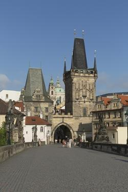 Old Town Bridge Tower from Charles Bridge by Angelo