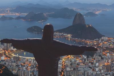 Statue of Christ the Redeemer, Corcovado, Rio De Janeiro, Brazil, South America