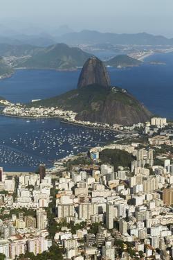 Sugar Loaf Mountain, Rio De Janeiro, Brazil, South America by Angelo