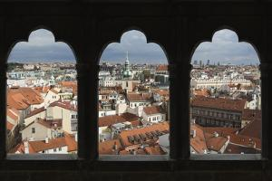 View over the City of Prague, Czech Republic, Europe by Angelo