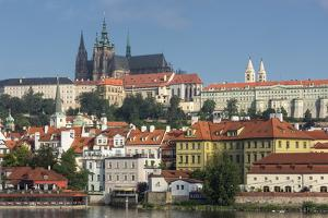 View to Castle District with St. Vitus Cathedral by Angelo