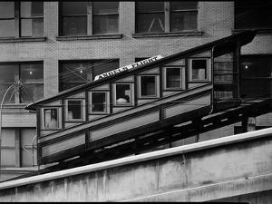 Angels Flight at Third and Hill Streets, Los Angeles
