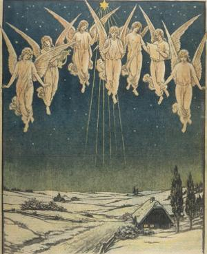 Angels Hovering Over the Swedish Countryside