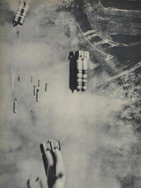 Anglo-American Incendiary Bombs Fall on Hamburg, 1942-45