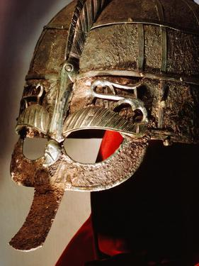 Anglo-Saxon Helmet from the Sutton Hoo Treasure, 7th Century