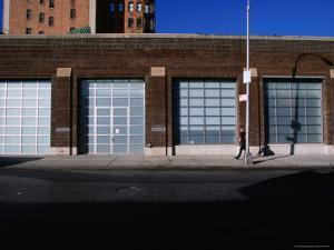 Facade and Entrance of the Gagosian Gallery in Soho by Angus Oborn