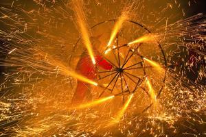 Fire Festival of the Catalonian Regions by Anibal Trejo