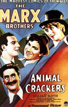 Animal Crackers, Groucho Marx, Zeppo Marx, Chico Marx, Harpo Marx, 1930