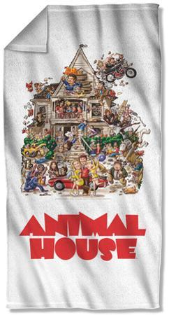 Animal House - Poster Beach Towel