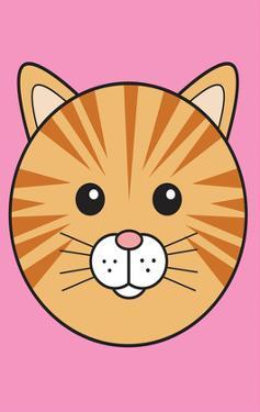 Cat - Animaru Cartoon Animal Print by Animaru