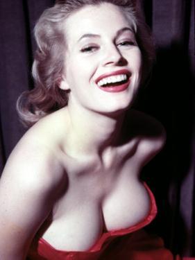 Anita Ekberg, 1950s