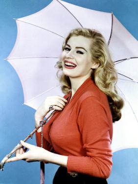 Anita Ekberg in the 1950s