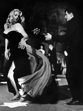Anita Ekberg, La Dolce Vita, Federico Fellini, 1960 (b/w photo)