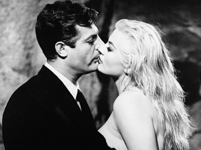 Anita Ekberg, Marcello Mastroianni, The Sweet Life,1960 (La Dolce Vita)
