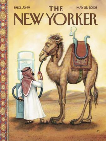 The New Yorker Cover - May 22, 2006 by Anita Kunz
