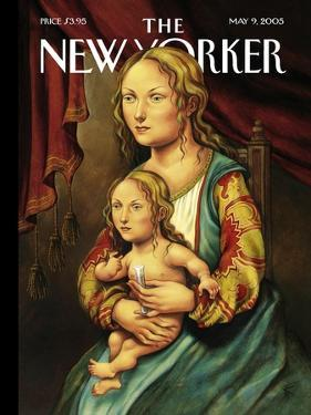 The New Yorker Cover - May 9, 2005 by Anita Kunz