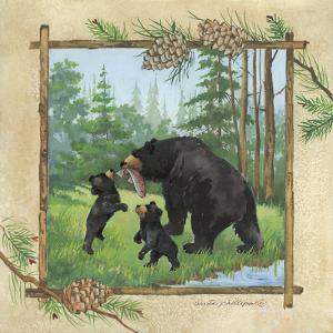 Black Bears III by Anita Phillips