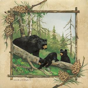 Black Bears IV by Anita Phillips