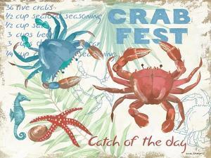 Crab Fest - Beige by Anita Phillips