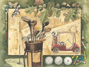 Golf Cart by Anita Phillips