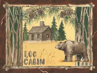 Log Cabin Bear