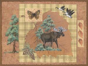 Moose Leaf by Anita Phillips