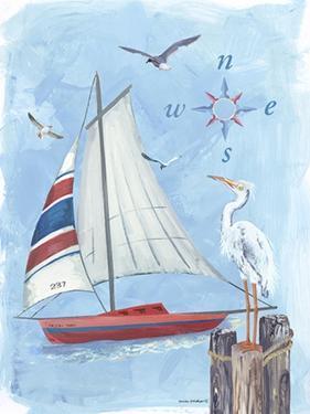 Sailboat II by Anita Phillips