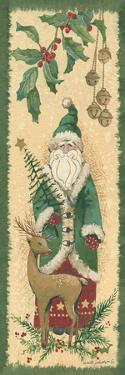 Santa with Reindeer by Anita Phillips