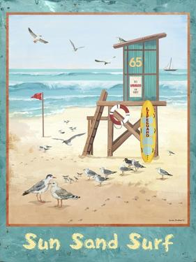 Sea, Sand, Surf by Anita Phillips