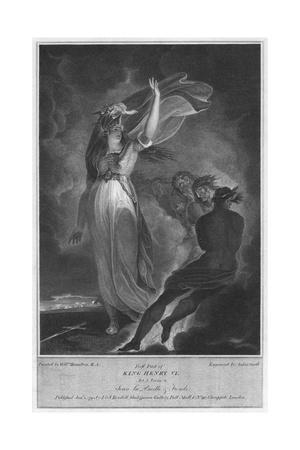 'First part of King Henry VI. Act 5. Scene 4. Joan la Pucelle & Fiends', 1795